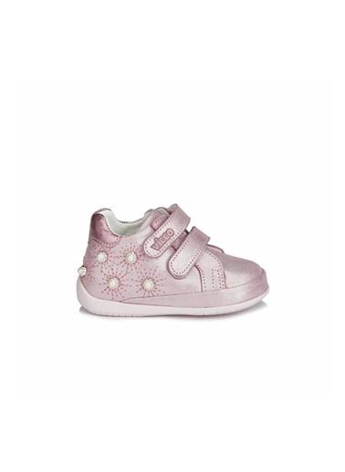 Vicco Vicco Ilk Adım Deri Ayakkabı Kız Bebek  Pembe